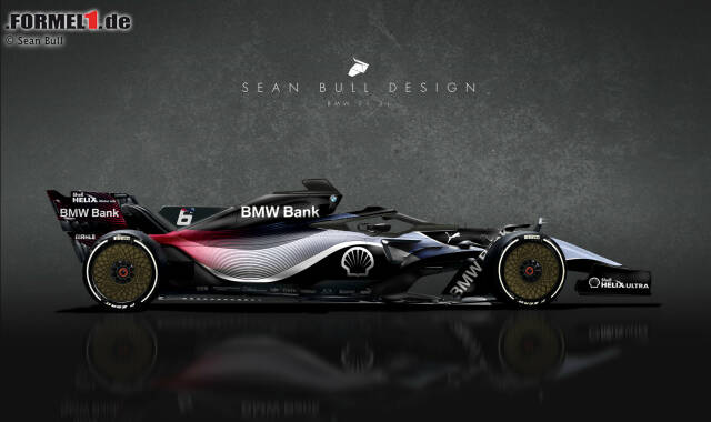 Sean Bull hat gerendert, wie die Formel 1 2021 aussehen könnte, wenn große Hersteller einsteigen. Jetzt durchklicken! Im ersten Bild: Seine Vision für ein etwaiges BMW-Team.