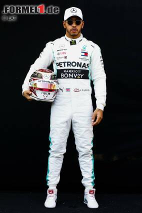 Lewis Hamilton (Großbritannien) - Mercedes - Startnummer 44