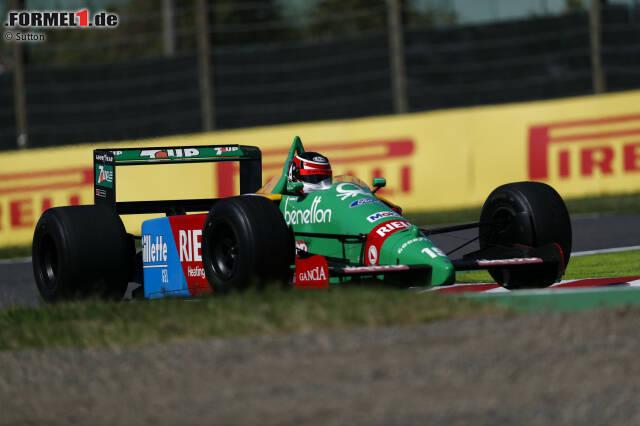 10. Aguri Suzuki: 4 Jahre, 4 Monate und 20 Tage zwischen dem US-GP 1991 und dem Deutschland-GP 1995