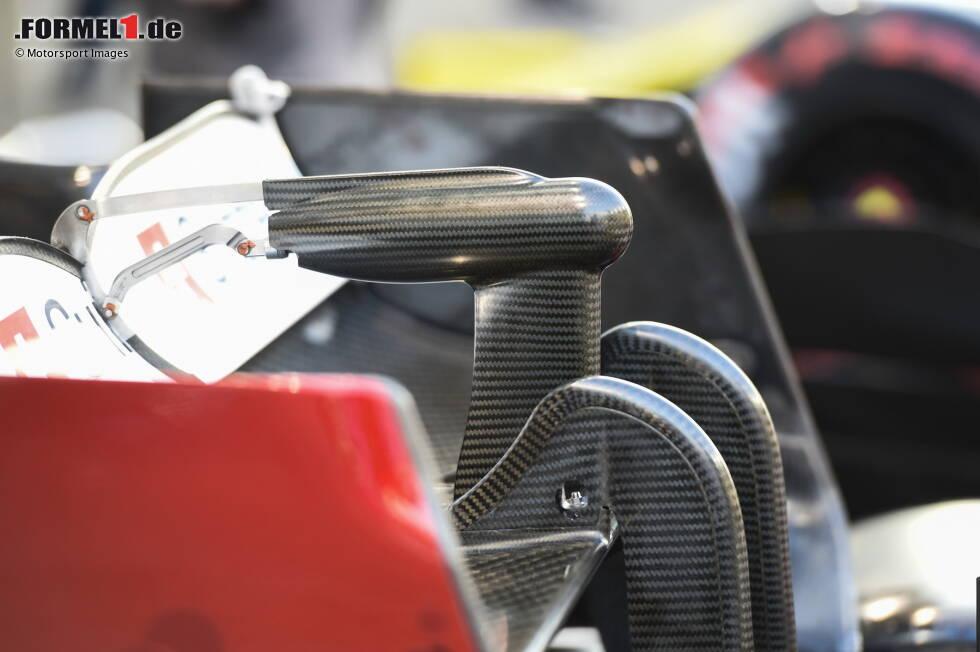 Alfa Romeo C38: DRS-Aufhängung