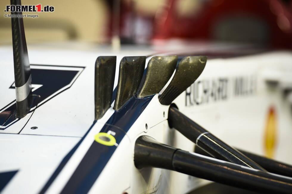 Alfa Romeo C38: Winglets