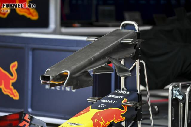 Red Bull RB15: Frontpartie ohne Verkleidung
