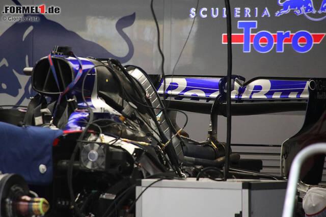 Die besten Technik-Detailfotos von der Formel 1 beim China-Grand-Prix in Schanghai!