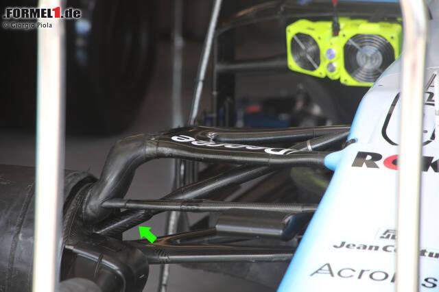 Williams FW42: Vorderradaufhängung