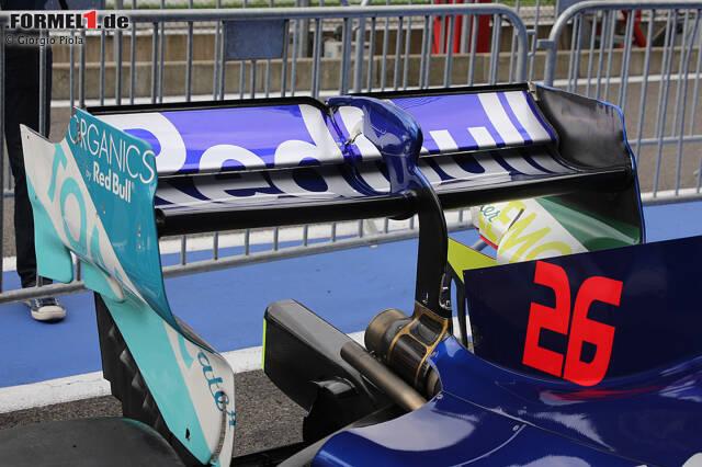 Toro Rosso STR14: Heckflügel