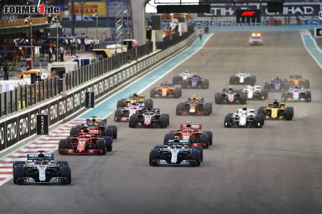 Dass die Autos in der Formel 1 2019 anders aussehen werden, ist bekannt. Vereinfachte Aerodynamik soll dafür sorgen, dass das Racing wieder besser wird. Es gibt aber auch zehn weitere Regeländerungen, die du vermutlich nicht mitbekommen hast. Welche das sind? Klick dich durch!