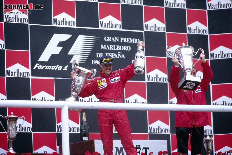 Platz 9: Michael Schumacher (27 Jahre, 151 Tage) - Spanien 1996