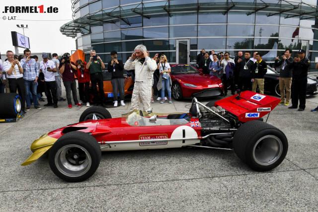 Sein Vater Graham gewann in dem Boliden den Großen Preis von Monaco 1969.