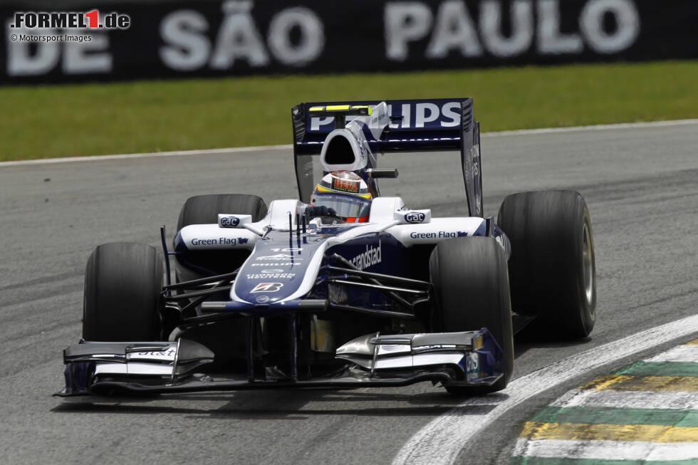 2010: Williams-Cosworth FW32 WM-Ergebnis: 14. mit 22 Punkten