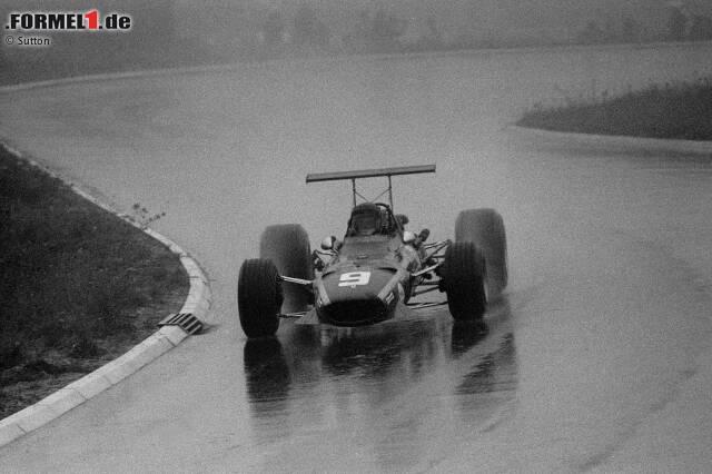#10: Jacky Ickx - 23 Jahre, 7 Monate, 3 Tage (Deutschland 1968) - Platzierung im Rennen: P4