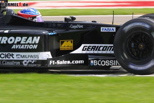 Fernando Alonso (Minardi): 2001 kommt der Spanier mit dem italienischen Team in die Formel 1. Er sammelt in 17 Rennen keinen Punkt, sein bestes Ergebnis ist ein zehnter Platz in Hockenheim. 2002 wird er Testfahrer bei Renault und ...