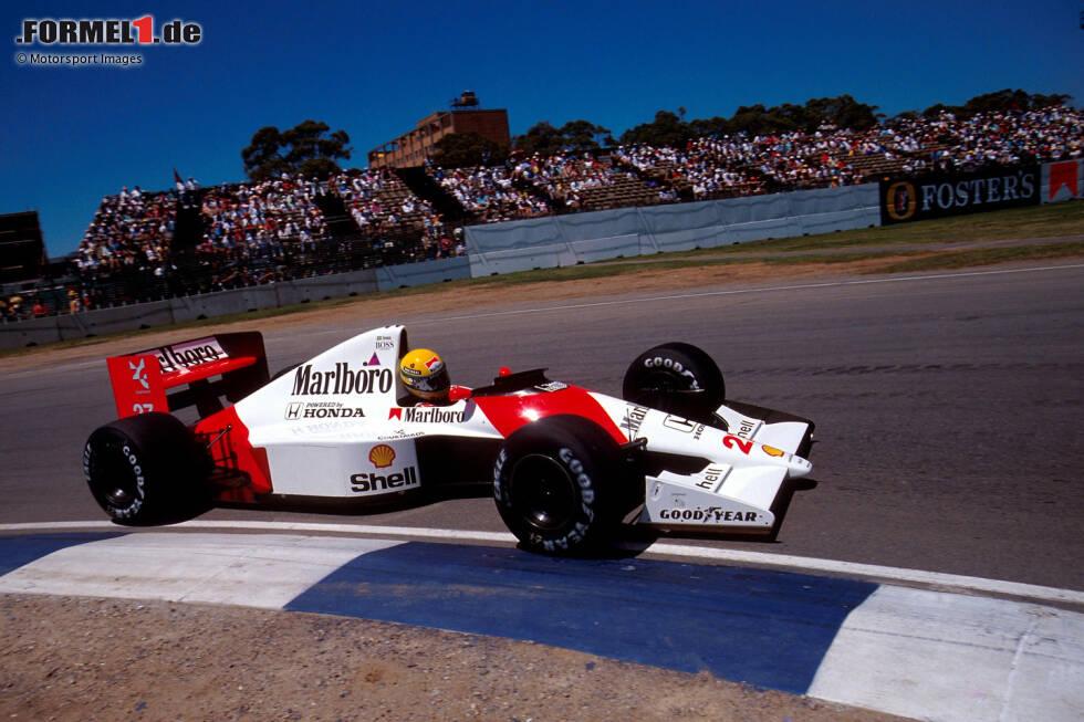 McLaren zählt zu den großen Traditionsteams der Formel 1. Schon seit den 1960er-Jahren ist der von Bruce McLaren gegründete Rennstall aktiv. Und hier zeigen wir sämtliche Grand-Prix-Fahrzeuge des Teams!