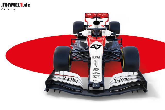 Zwei Jahrzehnte lang fuhr McLaren in den Farben Weiß und Rot von einem Erfolg zum nächsten. Eine Designstudie von 'F1 Racing' zeigt nun, wie dieser Look auf dem aktuellen MCL34 aus der Formel-1-Saison 2019 aussehen würde!