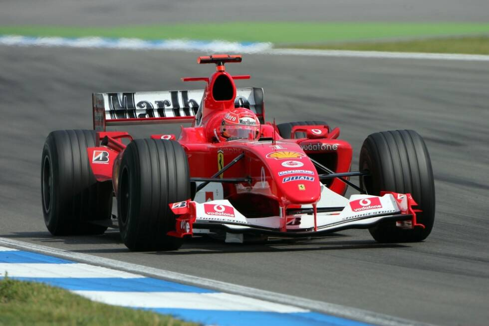 Fotostrecke Mick Schumacher Im Weltmeister Ferrari F2004 Foto 5 6