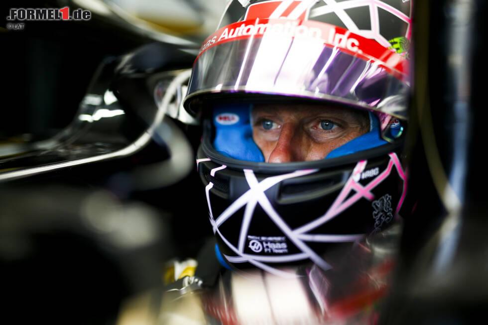 Romain Grosjean (4): Mit dem Wasserleck im Training hat das Wochenende schon schlecht begonnen. Im Qualifying eine klare Niederlage gegen den Teamkollegen, im Rennen lag er bis zum taktischen Ausfall knapp vor Magnussen. Grosjean weiß selbst nicht, woran's liegt. Das ist für die Ingenieure keine Hilfe.