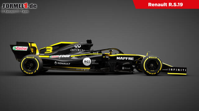 Renault hat seinen neuen R.S.19 für die Saison 2019 vorgestellt. Klick dich durch die besten Bilder!