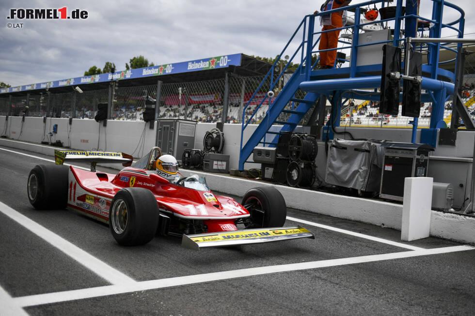 ... in dem er in der Saison 1979 den Weltmeistertitel auf Ferrari einfahren konnte. In jener Saison gewann er insgesamt drei Grands Prix.