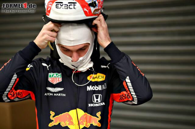 Max Verstappen unternahm in Silverstone die ersten Runden im neuen Red-Bull-Honda RB15. Hier sind die Impressionen von der Jungfernfahrt des Neuwagens!