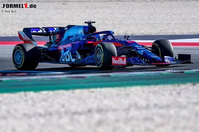 Alexander Albon und Daniil Kwjat haben mit dem Toro Rosso STR14 bereits die erste Ausfahrt unternommen. Hier sind die Bilder vom Shakedown in Misano in Italien!
