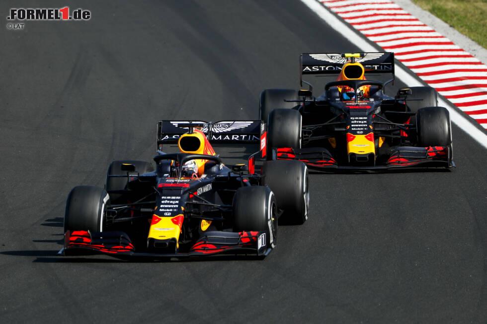 Pierre Gasly (5): Keine Fehler gemacht, aber im Qualifying fast neun Zehntel langsamer als Verstappen, dazu im Rennen vom Teamkollegen überrundet und sogar hinter dem McLaren von Sainz gelandet. Für den Anspruch von Red Bull viel zu wenig - und auch für unseren.