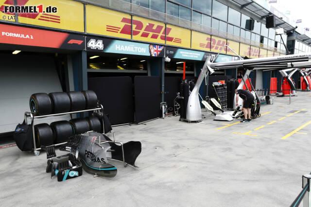 """Mercedes: """"Das Mercedes-Team hat heute einen Brief an die FIA und die Formel 1 geschickt und darin um die Absage des Großen Preises von Australien 2020 gebeten. Im Angesicht der Ereignisse höherer Gewalt hinsichtlich der Coronavirus-Pandemie haben wir nicht mehr das Gefühl, dass die Sicherheit unserer Angestellten garantiert werden kann."""""""