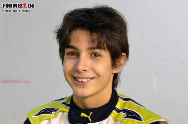 Gestatten? Esteban Ocon, Formel-1-Fahrer. Geboren am 17. September 1996 in Evreux in Frankreich. Und das hier ist die Geschichte seiner Motorsport-Karriere!