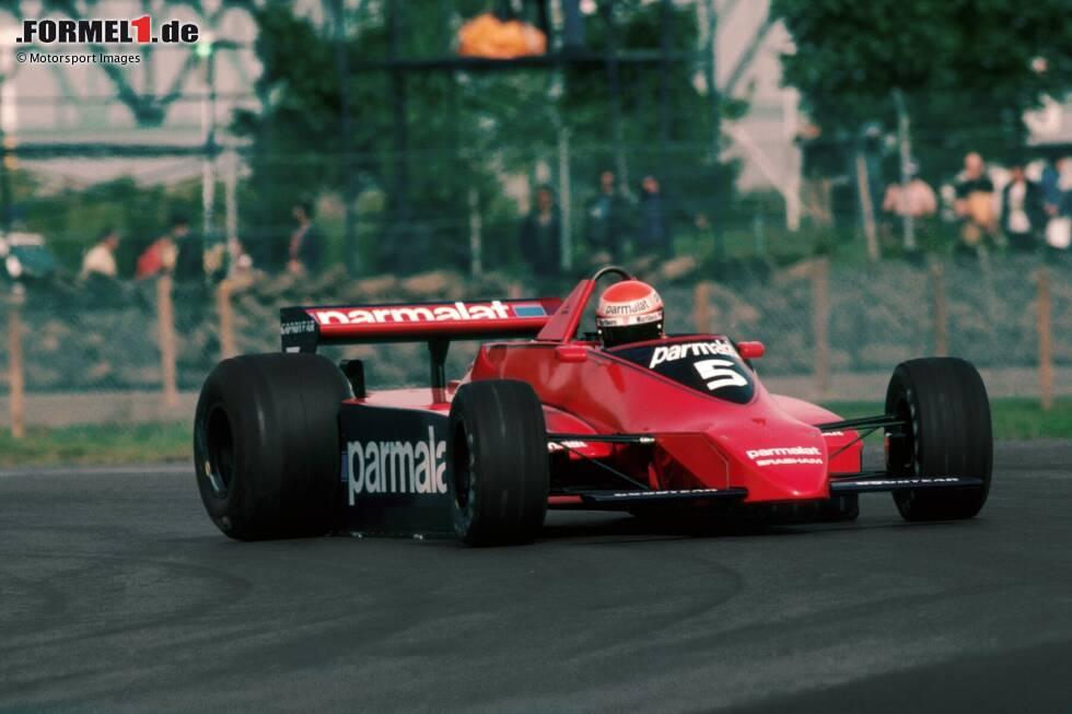 """Niki Laudas erster Rücktritt ist ein Paukenschlag. 1979 wirft der zweimalige Weltmeister mitten während des Rennwochenendes in Kanada die Brocken hin. """"Warum soll ich wie ein Trottel mit den anderen im Kreis fahren?"""", so seine Begründung gegenüber Brabham-Teamchef Bernie Ecclestone."""
