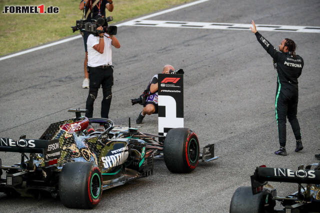 1. Mercedes - Letzter Sieg: Großer Preis der Toskana 2020 mit Lewis Hamilton