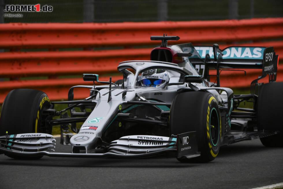 Die ersten Meter des neuen Mercedes W11 EQ Performance in Silverstone: Hier sind die Bilder vom Shakedown des Silberpfeils!