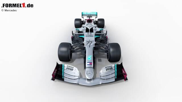 Der Neuwagen der Weltmeister: Mercedes hat erste Bilder vom Neuwagen W11 vorgestellt. Hier sind sie!