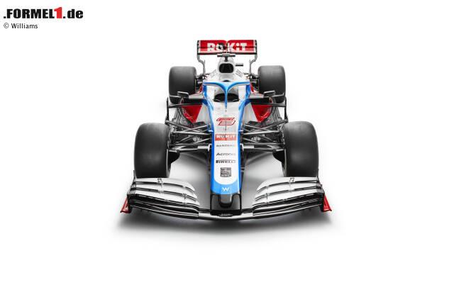 Der neue Williams-Mercedes FW43 ist da! Und hier sind die ersten Bilder vom Formel-1-Fahrzeug von George Russell und Nicholas Latifi in der Saison 2020!