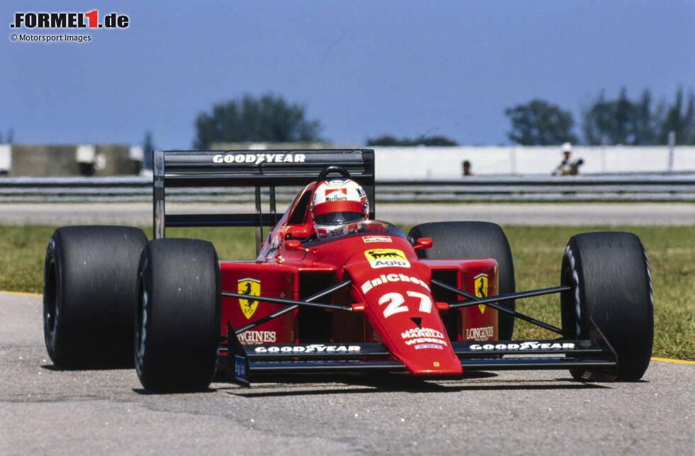 Drei Siege aus 16 Rennen sind keine Bilanz, mit der ein Auto in die Annalen der Formel 1 eingeht. Tatsächlich ist der Ferrari 640 aus der Saison 1989 nicht für seine Erfolge, sondern für die zahlreichen Innovationen in Erinnerung geblieben, die teilweise bis heute maßgebend sind. Wir zeigen, was diesen Ferrari so besonders macht!