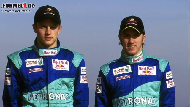 """Kimi Räikkönen (Sauber, 2001): """"Man nennt ihn 'Iceman'. Aber er wollte unbedingt Weltmeister werden und hat hart trainiert. Einiges, was die Leute über ihn sagen, sind wahr. Anderes stimmen überhaupt nicht. Du wirst nicht Weltmeister, wenn du ein fauler Sack bist und dich um nix scherst. Wenn er geschlagen wurde, gefiel ihm das nicht."""""""