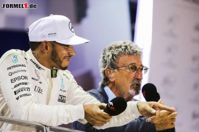 Eddie Jordan meint: Lewis Hamilton wechselt alsbald zu Ferrari. Das ist der jüngste Formel-1-Ausblick des ehemaligen Teamchefs, der bereits in der Vergangenheit kühne Prognosen aufgestellt hat. Häufig, aber nicht immer traf Jordan damit ins Schwarze - ein Überblick!