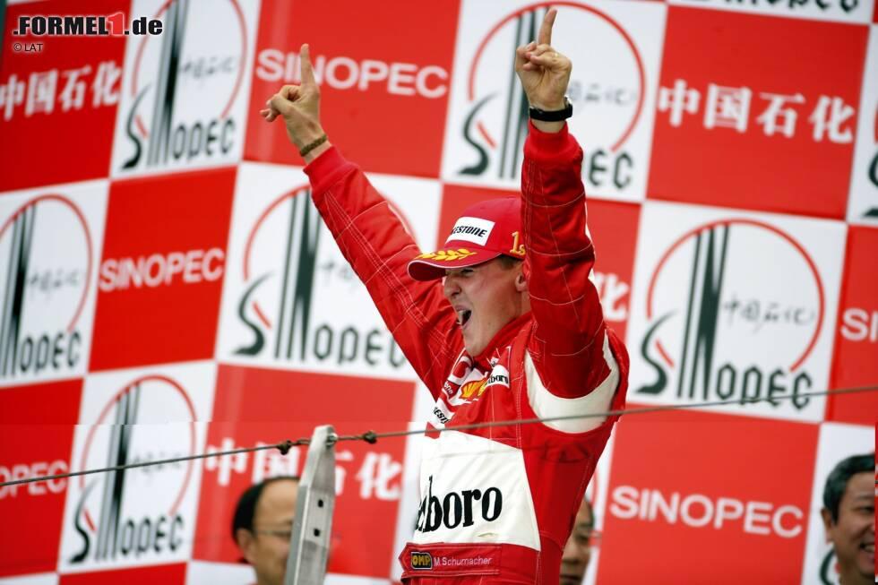 """Rennsiege (Michael Schumacher - 91): Lewis Hamilton steht aktuell bei 84 Triumphen. Bei sieben Saisonsiegen in 2020 könnte er mit """"Schumi"""" gleichziehen, bei acht könnte er ihn sogar überflügeln. Das wird am Ende aber natürlich auch davon abhängen, wie viele Rennen in diesem Jahr letztendlich überhaupt gefahren werden."""