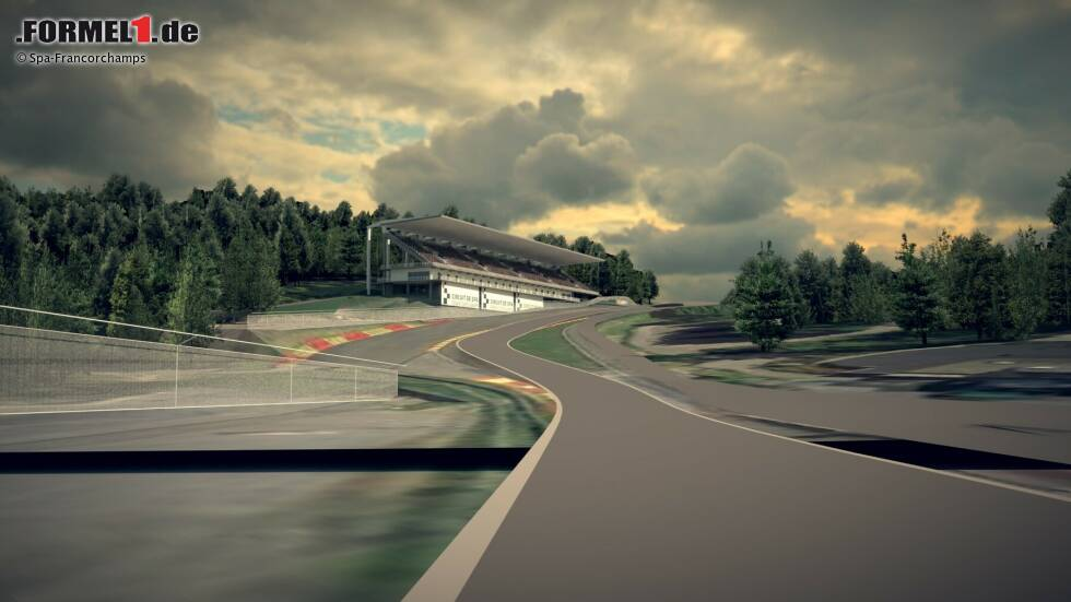 Die Rennstrecke in Spa-Francorchamps soll in den nächsten Jahren modernisiert und adaptiert werden.