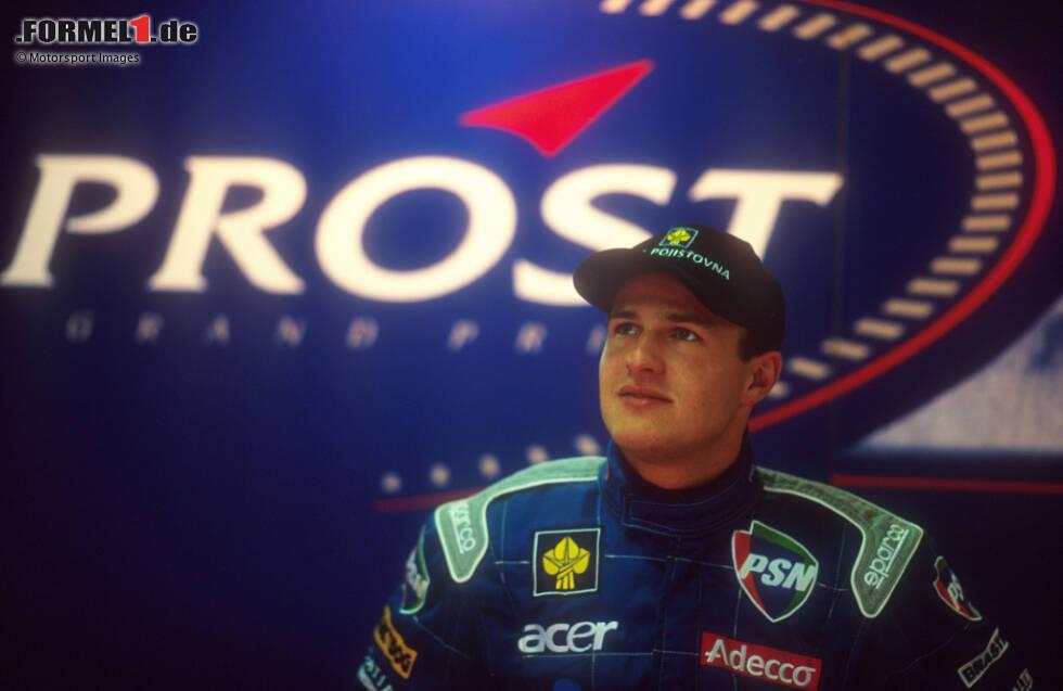 #10 Tomas Enge: Rein vom Talent her dürfte der Tscheche nicht in dieser Liste auftauchen, doch er steht sich mit einem Skandal selbst im Weg. Daher dauert die Formel-1-Karriere von Enge auch nur drei Rennen. Sportlich gibt es mit einem Titel in der Deutschen Formel Ford und zwei dritten Gesamträngen der Formel 3000 wenig zu kritisieren.