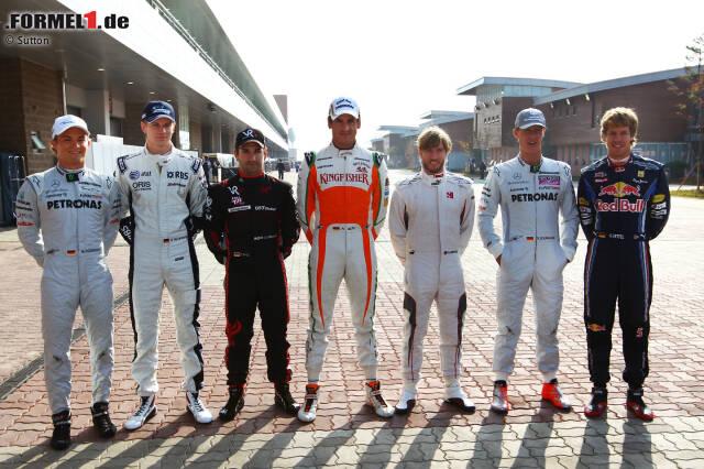 Deutsche F1 Fahrer