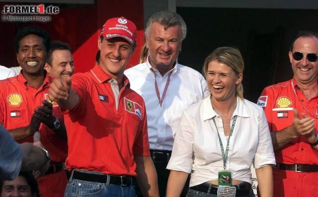 """Über Funkstille zu Michael Schumacher und seiner Familie: """"Ich bedaure das sehr. Nach dem Unfall habe ich getrauert wie ein Hund. Es hat mich wahnsinnig schwer getroffen. Aber ich musste mich irgendwann von Michael lossagen. Sonst kommt immer wieder die Erinnerung hoch. Und das tut weh."""""""