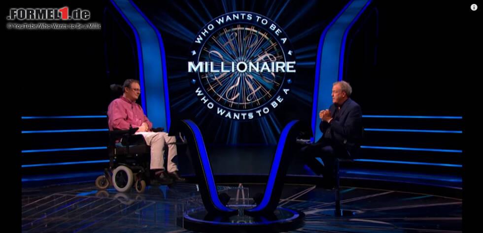 """Andrew Townsley hat es bei """"Who Wants to Be a Millionaire?"""" bis zur Millionenfrage geschafft. Er ist erst der sechste Kandidat in der Geschichte der Quizshow, dem das gelungen ist."""