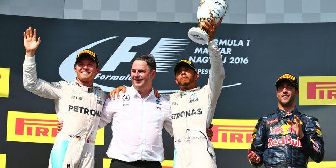 Lewis: Rekordsieg in Ungarn