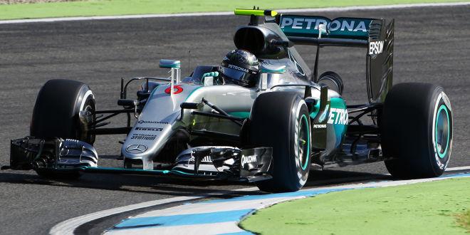 Rosberg mit zwei Bestzeiten