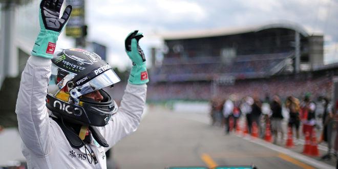 Rosbergs Berg- und Talfahrt