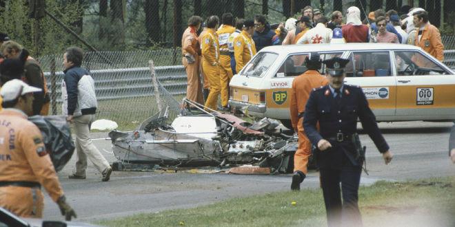 Weinen um Gilles Villeneuve