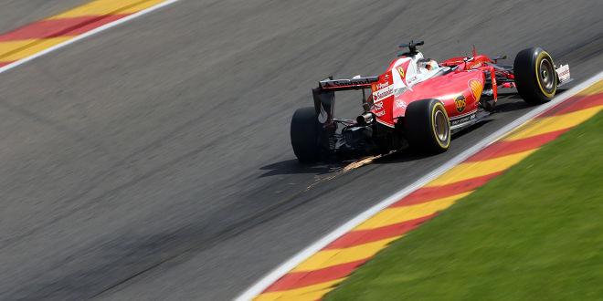 Ferrari sieht rot in Spa