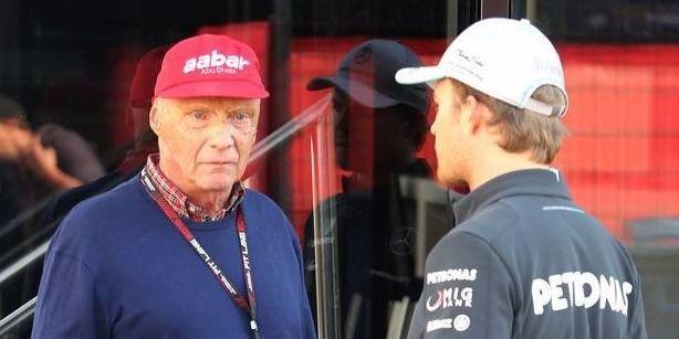 Niki Lauda sauer auf Rosberg