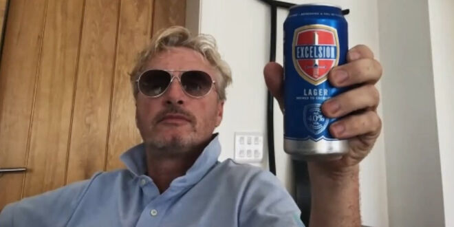 Ein Drink mit Eddie Irvine