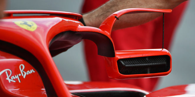 Ferrari ändert Rückspiegel!