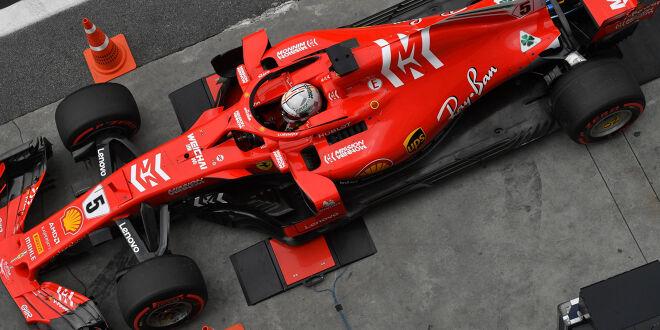 FIA erklärt (milde) Vettel-Strafe