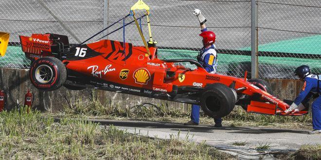 """Ferrari explodiert!"""